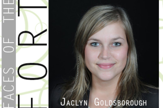 Faces of the Fort: Jaclyn Goldsborough