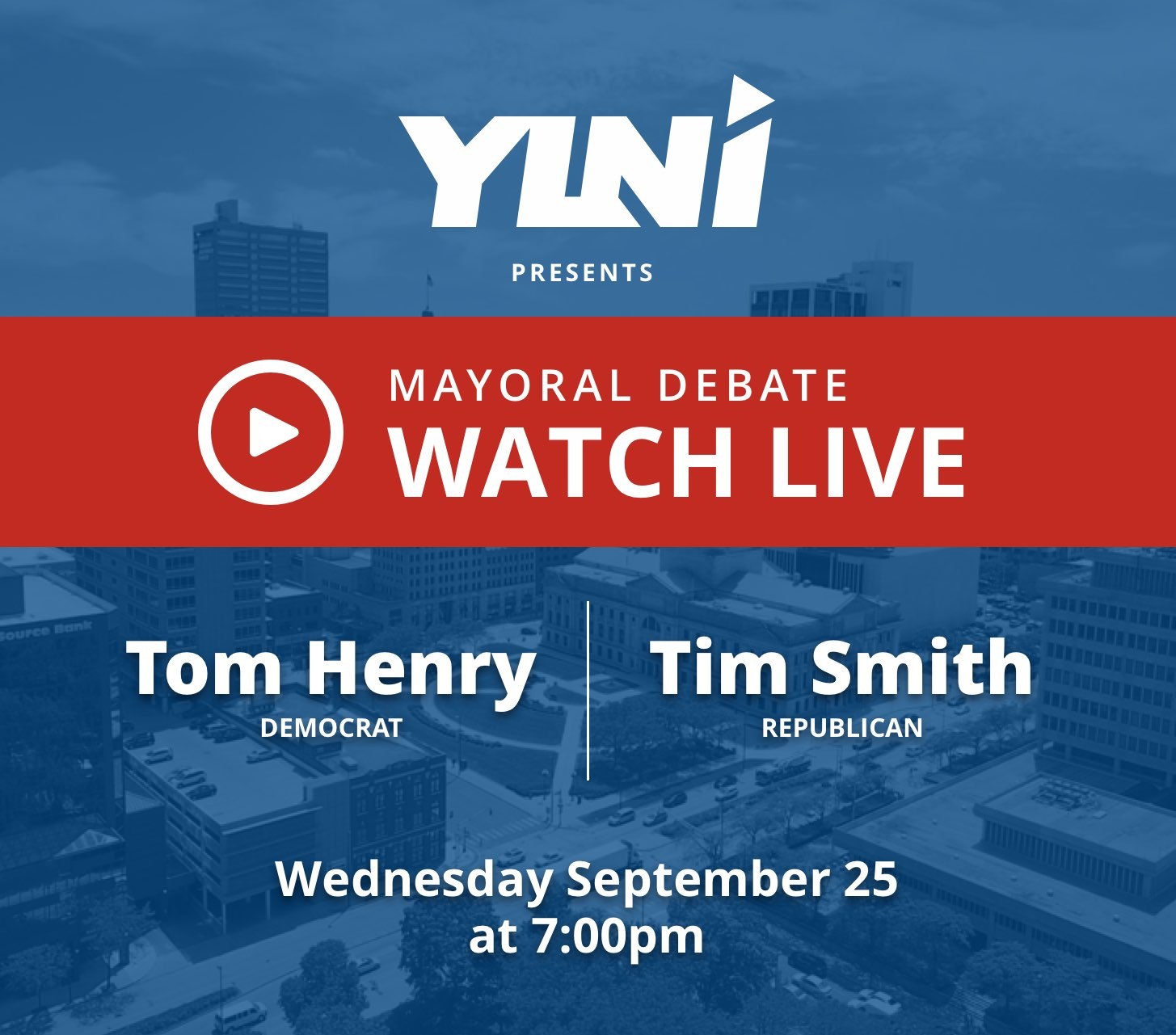 YLNI Mayoral Debate - Watch Live